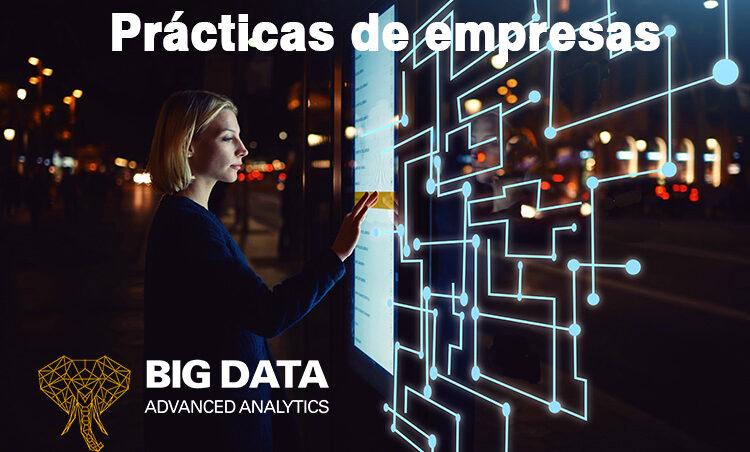 Prácticas de empresas que colaboran con la IV Edición del Máster en Big Data de la UMA
